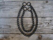 Black Anodized DOG Choke Training Chain