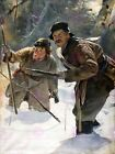 Painting Exterior Study Falat Javelineers Hunting Canvas Art Print