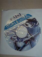Treiber CD für MainBoard MSI G43M2 G45M2 Treiber Driver Utilities Windows-Vista