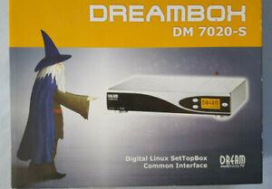 Digitaler SATDrambox-Receiver Dreambox DM7020S mit eingebauter 160GB Festplatt