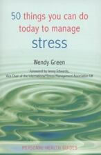 50 Things You Can Do Today to Manage Stress (Personal Health Guides)-ExLibrary