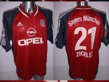 Bayern Munich Shirt Zickler Jersey Trikot Adidas Adult XL Soccer Munchen 2001