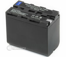 Battery for Sony NP-F960 NPF960 NP-F570 NP-F530 CCD-TRV Camcorder +Microfiber
