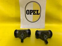 NEU XL Satz Radbremszylinder hinten re + li passend für Opel Kapitän P-L 2,6 RBZ