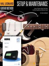 Hal Leonard Guitar Method Setup & Maintenance - Book + Korg Chromatic 000697392