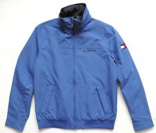 Tommy Hilfiger Mens Yacht Jacket Windbreaker, Blue, Size: M