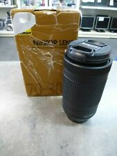 Objectif Nikon 70-300mm (Occasion)