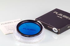 FILTRO PLAUBEL FILTER 58mm NEW IN BOX OLD STOCK 80A BLUE FOR MAKINA 67 670
