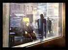 FRAMED James Dean Reflection OVERSIZED By Renato Casaro 54.25x38.5 Art Print