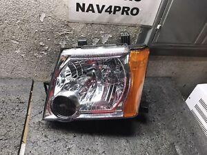 2005-2015 Nissan Xterra X-terra Chrome OE Style Left Halogen Headlight #A182