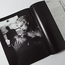 "Madonna Photo by Helmut Newton (4 pages/2 photos), Japan Magazine ""FOCUS"", 1990"