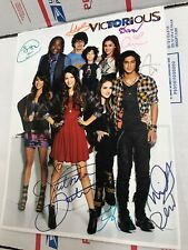 Ariana Grande Victorious Cast Signed by ALL cast VG In Protecter Rare