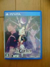 USED 7'scarlet from Japan Playstation Vita game soft PSV