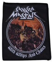 Savage Master with whips and Chains patch - 10 x 11 CM - 163583