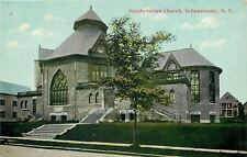 Schenectady Arch Window~1068 Park Ave Union Presbyterian Church~1910 Near Mint