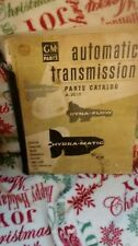 GM parts automatic transmission parts catalog A-3010 covers 1948-1955 many photo