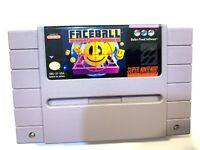 Faceball 2000 - SNES Super Nintendo Game Tested + Working & Authentic!