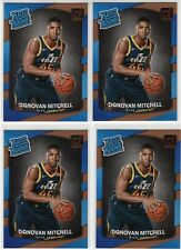 2017-2018 Donruss Rated Rookie #188 Donovan Mitchell (4 Card Rookie Lot) SHARP