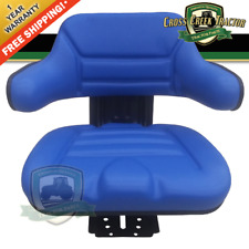 Blue Universal Tractor Suspension Seat Fits Fordfits New Holland 4110 4600 5000