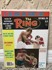 RING BOXING VINTAGE MAGAZINE ALEXIS ARGUELLO NETRNOI SOR VORASINGH Nov 1978 MINT