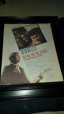 Sting Bring On The Night Rare Original Promo Poster Ad Framed!