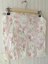 Rachel Ashwell Shabby Chic Pink Stripe Fabric Sample 16x16 Rose Floral Cottage