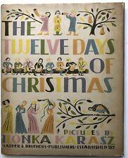 Ilonka Karasz / The Twelve Days of Christmas 1st Edition 1949