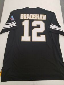 NEW Majestic Hall of Fame #12 Terry Bradshaw NFL Jersey LARGE