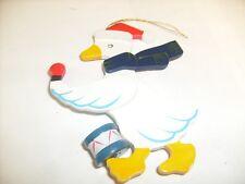 Christmas - Santa Goose Ornament Xmas - /l4