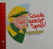 ADESIVI/Sticker: RAMBOLD-scuola divertente (050616134)