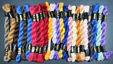 24x Needlepoint/Embroidery THREAD DMC Cotton Perle 3-mixed-IW9
