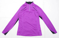 Mizuno Womens Size L Purple Sport Top (Regular)
