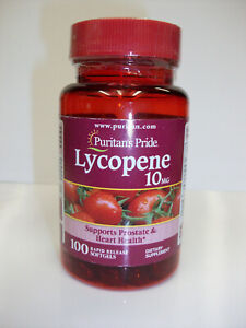 Lycopene 10 mg 100 Softgels  Supports Heart & Prostate Health  Dietary Supplemen