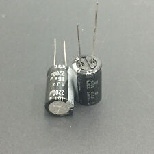 10pcs 2200uF 16V ELNA RJG 12.5X20mm 16V2200uF High Reliability Audio Capacitor