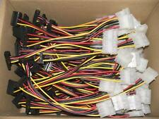 100x SATA Strom Kabeladapter abgewinkelt, 15cm