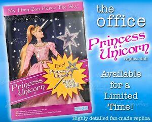 Dwight Princess Unicorn Doll The Office - Not Funko Pop
