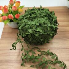 Silk Artificial Leaves Flower Home Party Wedding Decor Wreath Fake Flower 20M AU
