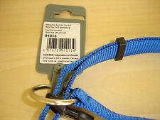 Hundehalsband Hunter blau Größe M