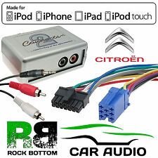 CTVPGX010 Citroen C3 2002 - 2005 Car Aux Input MP3 iPhone iPod Interface Adaptor