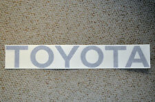 TOYOTA TACOMA TRUCK TAILGATE LOGOS DECAL 95-99  BLUE V6 SR5  pickup