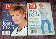 JOAN LUNDEN 2 TV Guides As The World Turns 40th Anniv  NewsRadio  Burns Kilborn