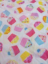 Hiboux /& cerises 100/% tissu de coton enfants Craft