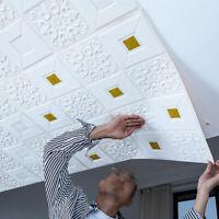New Waterproof Self-adhesive 3D Wall Stickers Brick Wallpaper Bedroom Home Decor