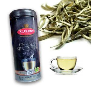 40g Ceylon Silver Tips White Tea,Whole Leaf,Nuwara Eliya,White Tea Sri Lanka