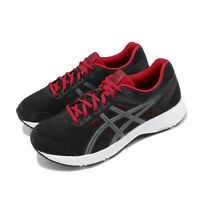 Asics Gel-Contend 5 4E Extra Wide Black Red White Men Running Shoes 1011A252-005