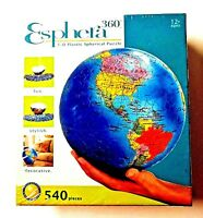 Esphera Puzzle 360 3-D Plastic Spherical 540 Pieces Brand NEW SEALED