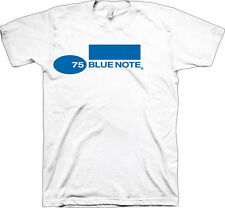 Blue Note Records-Blue Note  75 Logo-X-Large White T-shirt