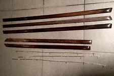 MERCEDES Benz w109 türpappe porta barre di legno 5 pezzi