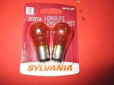2057ALL--SYLVANIA -LONG LIFE--LOT OF 2--[1 CARD]-Turn Signal Light -2057ALL/BP2