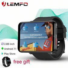 LEMFO LEMT 4G Smart Watch Men Android 7.1 3GB+32GB 2.86inch Screen SIM Card GPS